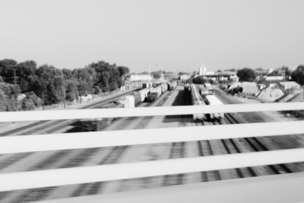 photography from a moving vehicle